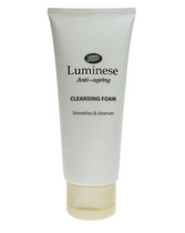 Sữa rửa mặt Boots Luminese Anti-ageing Cleansing Foam (Anh)
